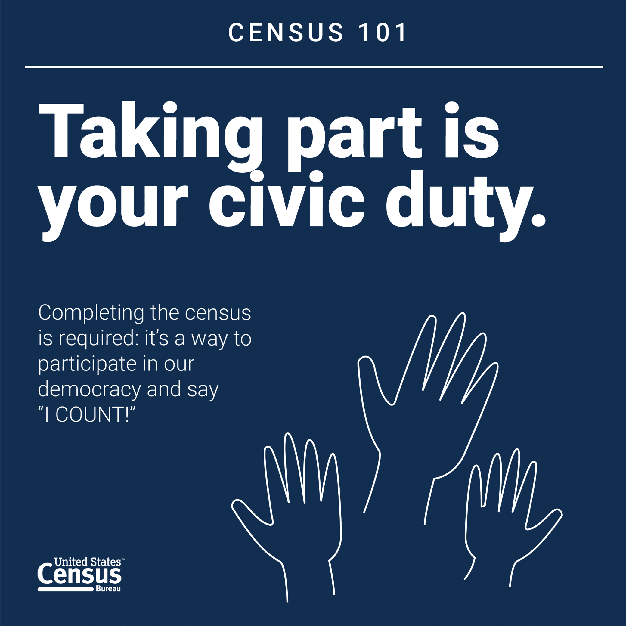 Census101 Civic Duty